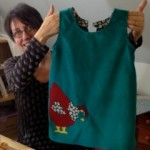 Dawn's pinafore dress