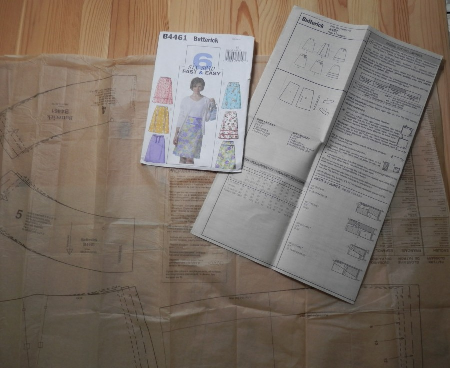 Sewing classes in building confidence for using paper patterns
