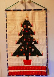 Advent Calendar from Christmas sewing classes